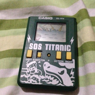 SOS TITANIC Made from casio