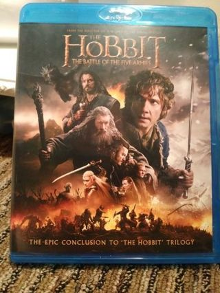 The Hobbit Battle of the five armies bluray