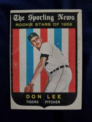 1959 Topps Don Lee