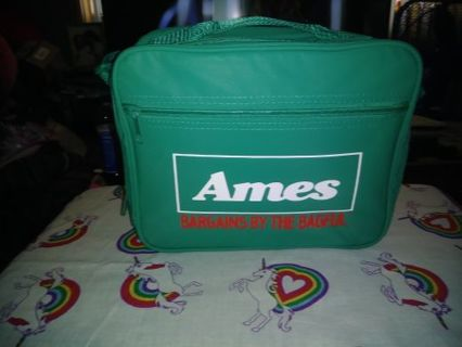 "❤✨❤BRAND NEW GREEN VINTAGE ""AMES"" INSULATED LUNCH BAG❤✨❤+GIN BONUSES!"