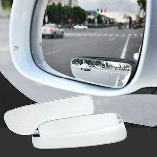 2Pcs Car Van Blind Spot Blindspot Towing Reversing Driving Convex Mirror 360°