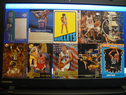 (10) Basketball Cards Stars, HOFers & Inserts - LOT 20 - Read Details