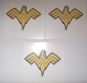 Free 3 temporary tattoos dc comics wonder woman other for Wonder woman temporary tattoo