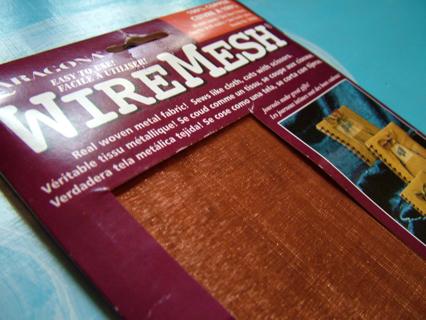Free: Woven Copper fabric! Uncut sheet fine Copper Wire Mesh (16 x ...