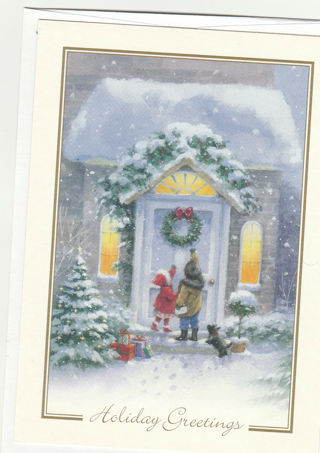 Christmas Card Unused With Envelope Children