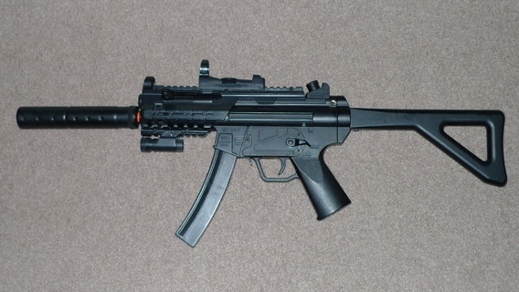 Free: AIRSOFT MP5 A7 SUBMACHINEGUN w/ ACCESSORIES! - Other