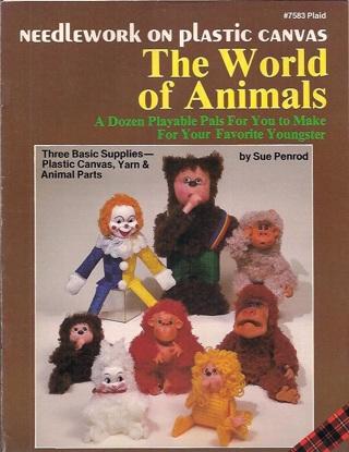 "Needlework on plastic canvas""The World Of Animals"""