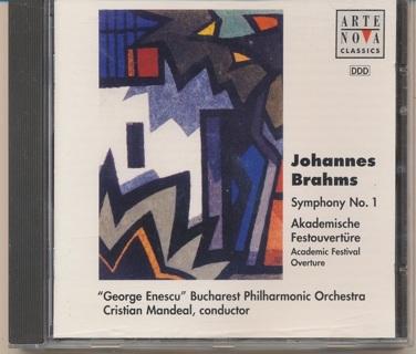 """Johannes Brahms, Symphony No. 1"", See Photo 2 for Playlist - CD-023"