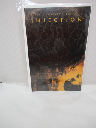 INJECTION COMIC BOOK #7