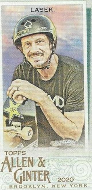 2020 ALLEN & GINTER BUCKY LASEK MINI INSERT CARD