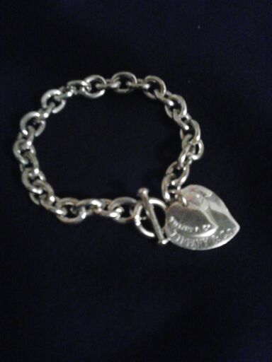 Free Tiffany Amp Co Double Heart Tag Toggle Bracelet