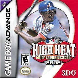 MLB High Heat 2002 GBA Game