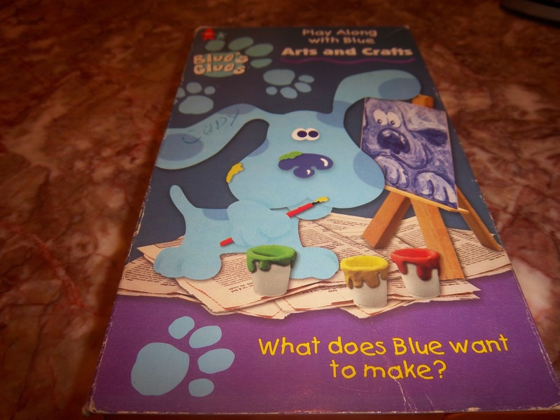 Free Blues Clues Arts And Crafts Vhs Movie Vhs Listia