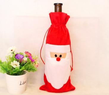 1 Piece Cover Bags Christmas Decors Santa Claus