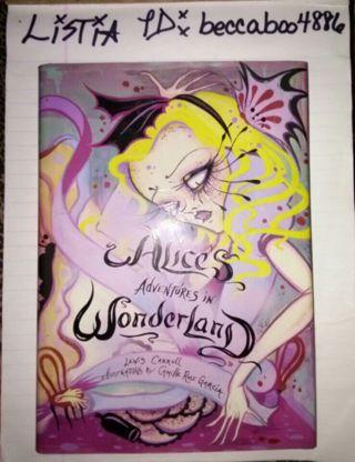 Alice's Adventures in Wonderland hardback book by: Lewis Carroll SPECIAL EDITION!