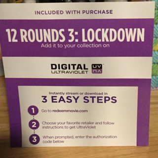 Digital Copy   12 Rounds 3: Lockdown