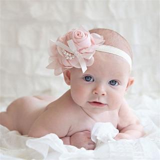 Hot headband kids hair accessories baby headband cute fabric flowers for headbands diademas pelo f
