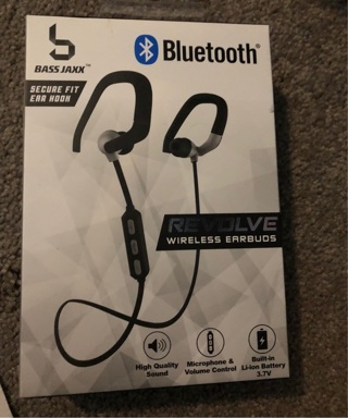New Bluetooth headphones