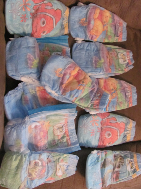 Free Lot Of 10 Huggies Little Swimmers Winnie The Pooh