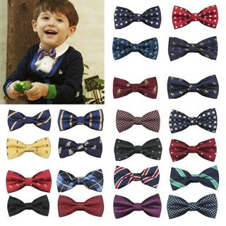 Student Kids Baby Boys Bow Tie School Wedding Party Xmas Formal Pageant Necktie