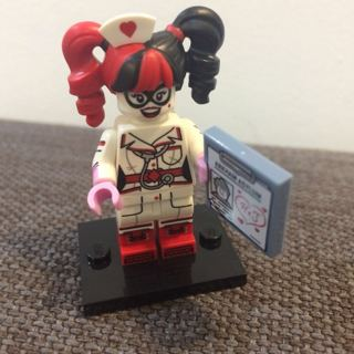 New Nurse Harley Minifigure Building Toys Custom Lego