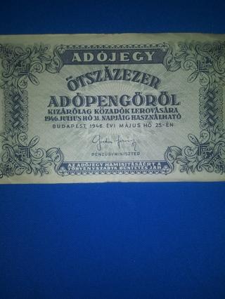 1) Bankbnote 1946