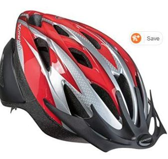 Schwinn Thrasher Lightweight Microshell Bicycle Helmet Featuring 360 Degree Comfort System