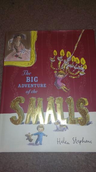 The Big Adventure of the SMALLS children's book