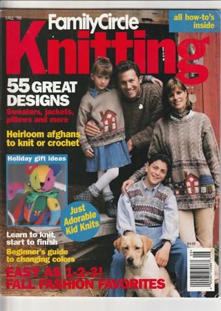 Craft Magazine: Family Circle Knitting Fall 1996