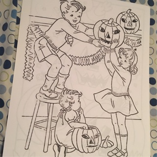 Children's coloring book