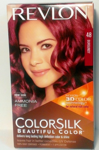 Free Revlon Colorsilk Permanent Hair Color  Burgundy 48  Hair