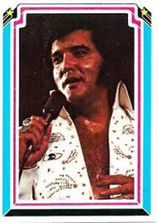 vintage!1978 elvis presley trading card#51-ex