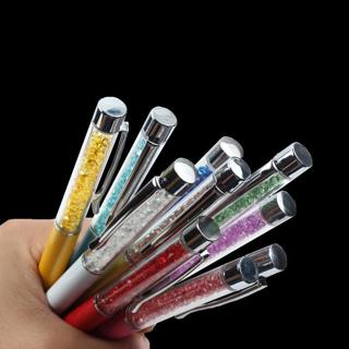 1PCS GOOD QUALITY Delicate Crystal Pen Diamond Refills Office School Supplies Pens Writing Ballpoi