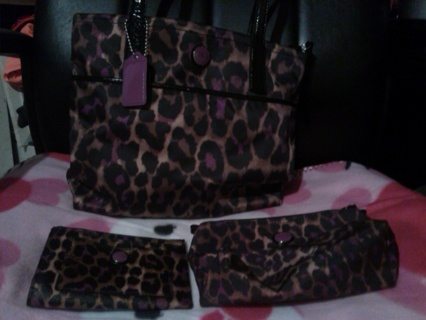 **ULTIMATE COACH AUCTION** 4 Matching Pieces In Beautiful Condition.
