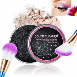 Dry Box Cleaning Sponge Makeup Brush Cleaner Cosmetic Eyeshadow Cleaner Tools