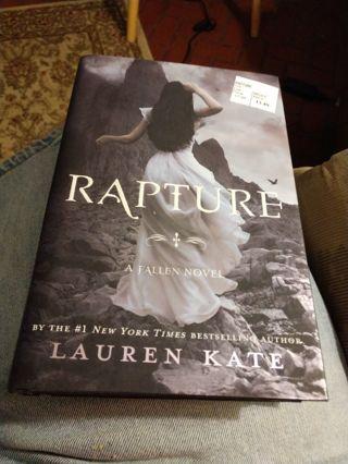 Rapture by Lauren Kate (hardcover)