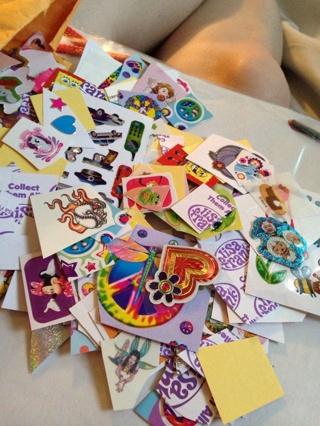 ✿•*¨`*•.¸ Mystery Sticker Loot Bag 50+ Pieces Random Mix ¸.•´*¨`*•✿