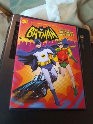 DVD Batman Return of the Caped Crusaders