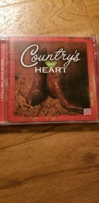 Countrys got heart cd