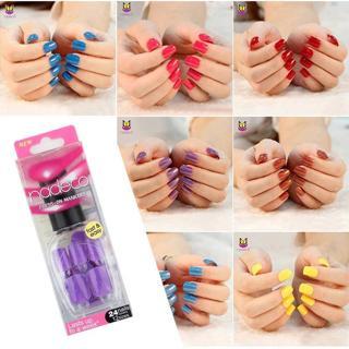 False Nails Tips Press On Manicure Gel Polish False Tips Nail Art Design Short Length Artificial N