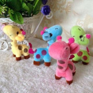 Birthday Gift Stuffed Animal Dolls Cute Plush Giraffe Doll Baby Kids Toy