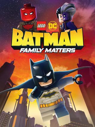 LEGO DC Batman Family Matter (HDX) (Movies Anywhere) VUDU, ITUNES, DIGITAL COPY
