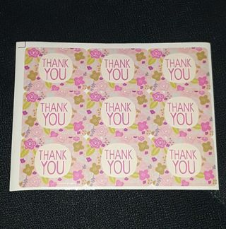 "❤️ LARGE & Pretty ""THANK YOU!"" Labels/Stickers❤️"