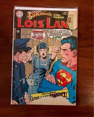 Superman's Girlfriend Lois Lane #84 12 cent Cover Silver Age DC Comic