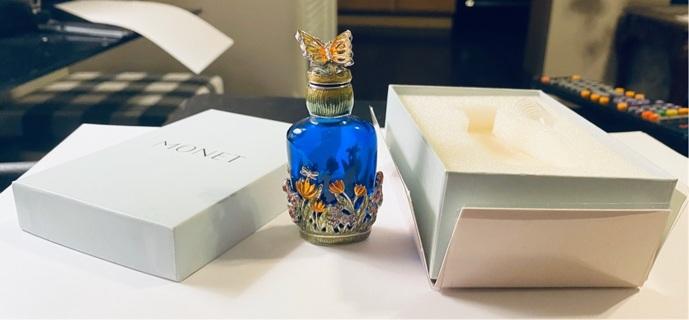 Vintage, Monet Miniature Perfume Bottle
