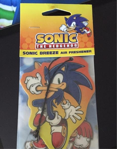 Free Sonic The Hedgehog Car Air Freshener Accessories Listia Com Auctions For Free Stuff