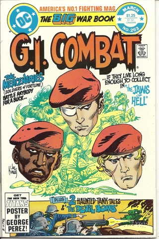 (CB-7) 1983 DC Comic Book: G.I. Combat #263