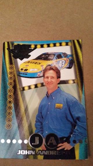 * John Andretti *  Nascar  High Gear 2000 collectors card