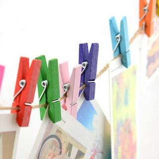 Multi Colors Creative Photo Picture Wall Hang Frame Clip Snack Clip Note Clamp