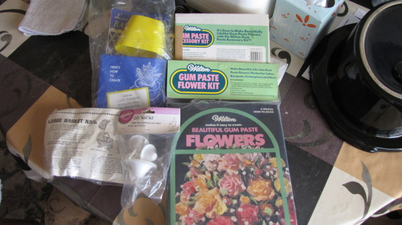 Cake Decorating  - Gum Paste Lot